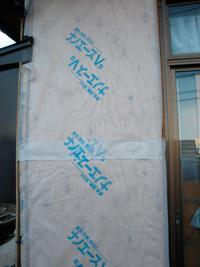 構造用合板取付