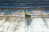 屋根材施工の実態3