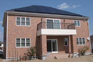 どんな屋根にも似合う、スッキリしたシックなデザイン