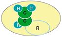 一般的な有機物の分子構造