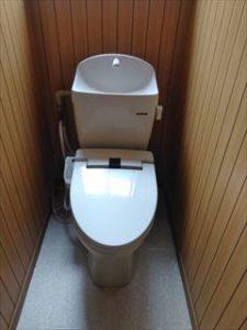 松本市蟻ケ崎 吉田邸 和式→洋式トイレ交換