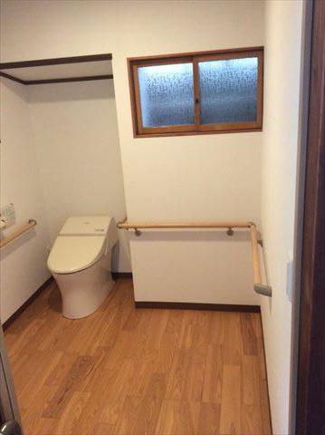 トイレ拡幅