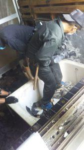 辰野町 タイル風呂
