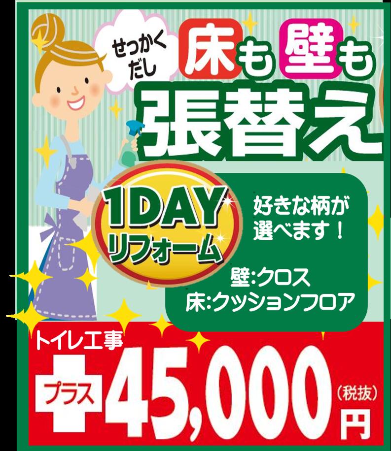 内装1DAYリフォーム (2)