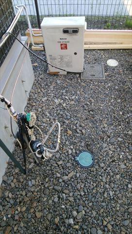 灯油ボイラーからエコキュートへ交換工事