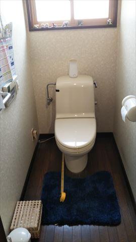 松本市O邸トイレ施工前