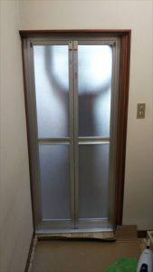 浴室折れ戸交換工事
